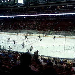 Photo taken at Maverik Center by Brian A. on 3/10/2012