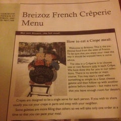 Photo taken at Breizoz French Creperie by Elly C. on 7/21/2012