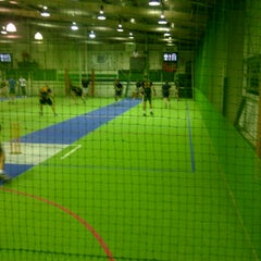 Photo taken at Wynnum Action Arena Indoor Sports by ABCrusader on 2/15/2012