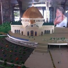 Photo taken at Santuário Basílica do Divino Pai Eterno by Claudia E. on 5/26/2012