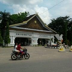 Photo taken at Universitas Jambi (Mendalo) by Rian I. on 7/19/2012
