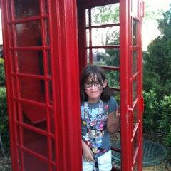 Photo taken at United Kingdom Pavilion by lelah g. on 3/25/2012
