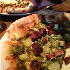 Photo taken at Napolese Artisanal Pizzeria- 49th and Pennsylvania by Alyssa S. on 6/18/2012