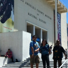 Photo taken at Natural History Museum of Los Angeles County by Katie D. on 6/5/2012