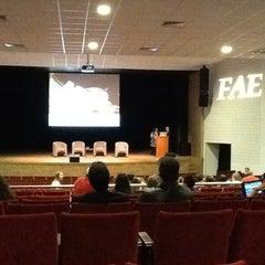 Photo taken at FAE Centro Universitário - Prédio I by Raul C. on 5/9/2012