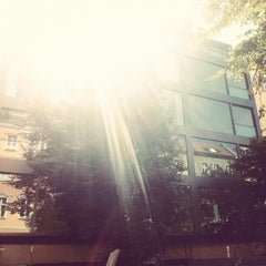 Photo taken at Helmholtzplatz by B. B. on 7/8/2012