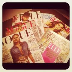 Photo taken at Llibreria Papereria Avui by k on 3/11/2012
