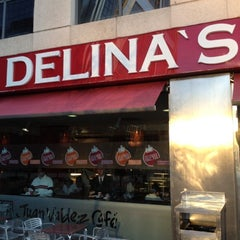 Photo taken at Delina's by Peter R. on 9/5/2012