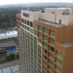 Photo taken at Hyatt Regency Bellevue on Seattle's Eastside by Ultra O. on 6/7/2012