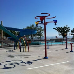 Photo taken at Last Chance Splash Water Park by Carla J. on 7/9/2012