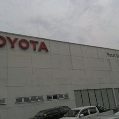 Photo taken at Toyota Service Center by Mohammad Azlan H. on 3/14/2012