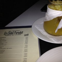 Photo taken at Platja es Còdol Foradat by InDOMEstico on 7/14/2012