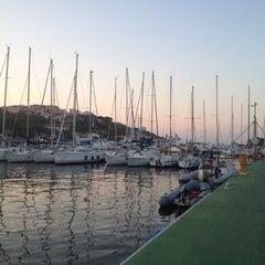 Photo taken at Porto di Santa Teresa di Gallura by Daniela B. on 8/19/2012