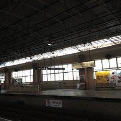 Photo taken at 镇坪路地铁站 | Zhenping Rd. Metro Stn. by Paris Z. on 9/5/2012