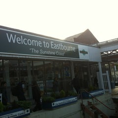 Photo taken at Eastbourne Railway Station (EBN) by OnlYui on 6/8/2012