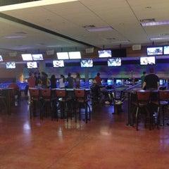 Photo taken at Celebrity Lanes Bowling by Tha G. on 5/11/2012
