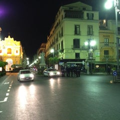 Photo taken at Piazza Tasso by Lisa G. on 4/5/2012