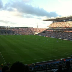 Photo taken at Croke Park by Niamh G. on 8/4/2012