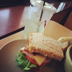 Photo taken at Panera Bread by Ashleigh K. on 9/4/2012