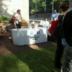 Photo taken at With Love Beer Garden at the Four Seasons Hotel Philadelphia by Chris B. on 6/8/2012