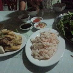 Photo taken at Hải Hoà Beach by Ta T. on 7/27/2012
