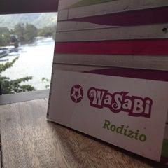 Photo taken at Wasabi Sushi by Dandaha on 8/17/2012