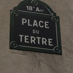 Photo taken at Place du Tertre by Christina T. on 7/20/2012