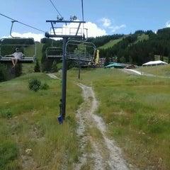Photo taken at Whitefish Mountain Resort by Jenny S. on 8/14/2012