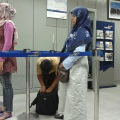 Photo taken at Bank Mandiri by eLhami h. on 3/2/2012