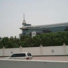 Photo taken at Dubai Police General H.Q. القيادة العامة لشرطة دبي by Andre W. on 5/23/2012