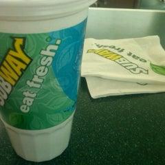 Photo taken at Subway by Nathaniel G. on 3/11/2012