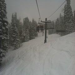 Photo taken at Solitude Mountain Resort by Kate W. on 2/28/2012