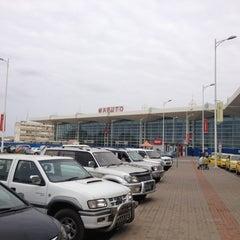 Photo taken at Aeroporto Internacional de Maputo by Danilo D. on 9/2/2012