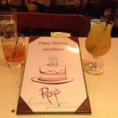 Photo taken at Roy's by Nicole M. on 7/7/2012