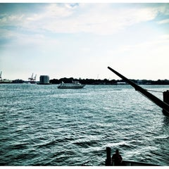 Photo taken at Governors Island Ferry by Juan E. on 6/10/2012