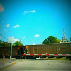 Photo taken at Downtown Kirkwood by Chelly on 6/9/2012