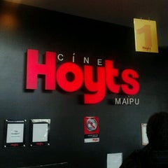 Photo taken at Cine Hoyts by Luchito Galvez O. on 5/6/2012