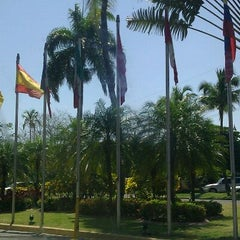 Photo taken at Hotel Santo Domingo by Luanne M. on 4/20/2012