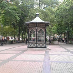 Photo taken at Rittenhouse Square by Gaetan V. on 5/2/2012
