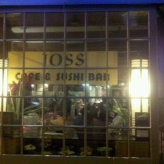 Photo taken at Joss Cafe & Sushi Bar by Charlie S. on 5/20/2012