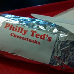 Photo taken at Philly Ted's Cheesesteaks & Subs by Alex Ť. on 7/11/2012