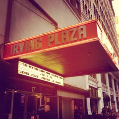 Photo taken at Irving Plaza by Patrick F. on 6/9/2012