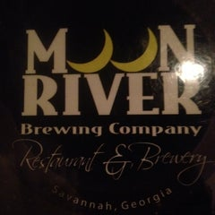 Photo taken at Moon River Brewing Company by Ryan L. on 7/15/2012