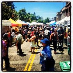 Photo taken at Downtown Berkeley Farmers Market by Rick B. on 6/2/2012