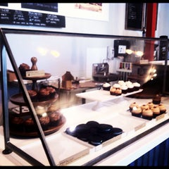 Photo taken at Moustache Baked Goods by Roham G. on 5/13/2012