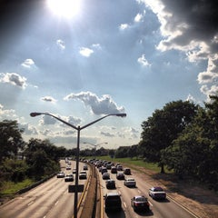 Photo taken at Belt Parkway by Christopher J. on 8/16/2012