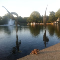 Photo taken at Victoria Park by Paul D. on 7/26/2012