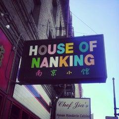 Photo taken at House of Nanking by TheYumYum F. on 6/12/2012