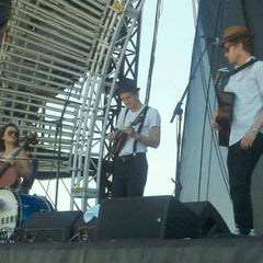Photo taken at Chevrolet Stage at Hangout Music Fest by Jessica H. on 5/20/2012
