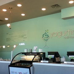 Photo taken at YogurtiniOP by Jessica G. on 8/5/2012